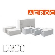 Газоблок AEROC D300 300x200x610 мм паз-гребень, Обухов