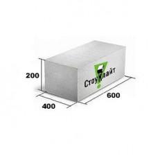 Газобетон Стоунлайт 400x200x600 мм D 500 гладкий