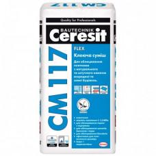 Ceresit CM 117 Flex клеящая смесь 25 кг