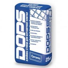 DOPS CERAMIC клей для керамической плитки 25 кг