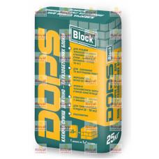 DOPS BLOCK Клей для кладки газобетонных блоков 25кг