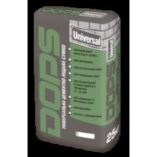 DOPS UNIVERSAL Универсальная цементно-песчаная смесь 25 кг