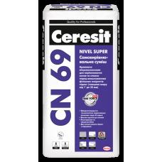 Ceresit CN 69 Nivel Super самовыравнивающаяся смесь 25 кг