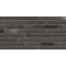 Клинкерная плитка STROEHER Riegel 50 цвет 453 Silber-schwarz, 490x14x40 мм