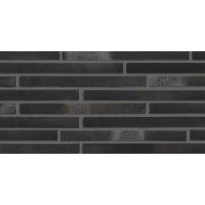 Клинкерная плитка STROEHER Riegel 50 цвет 456 schwarz-blau, 490x14x40 мм